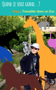 Hugo travailler dans un zoo