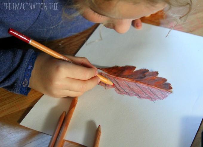 Dessiner en symétrie automne