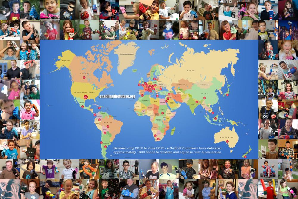 enable partout dans le monde
