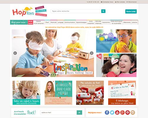 Hop'Toys - Jeux et jouets pour enfants handicapés
