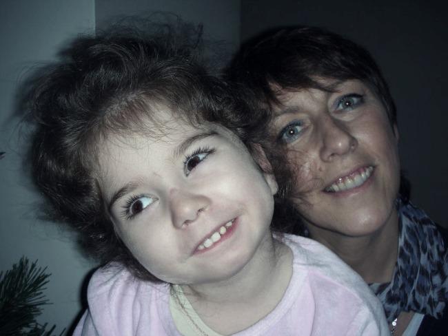 Maman enfant handicap