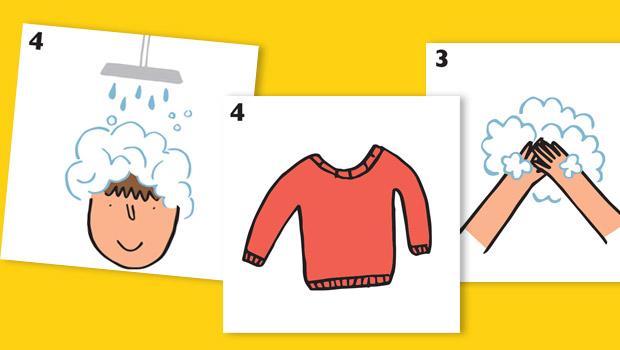 Des s quences de pictogrammes pour faciliter les gestes quotidiens blog hop 39 toys - Pictogramme cuisine gratuit ...