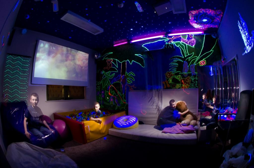 Sensory Lights Rooms Fr Special Needs