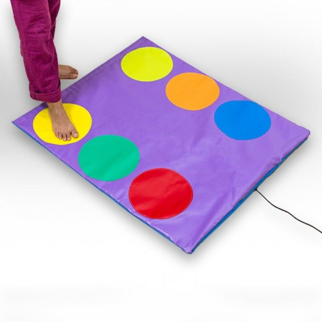 tapis tactile couleur