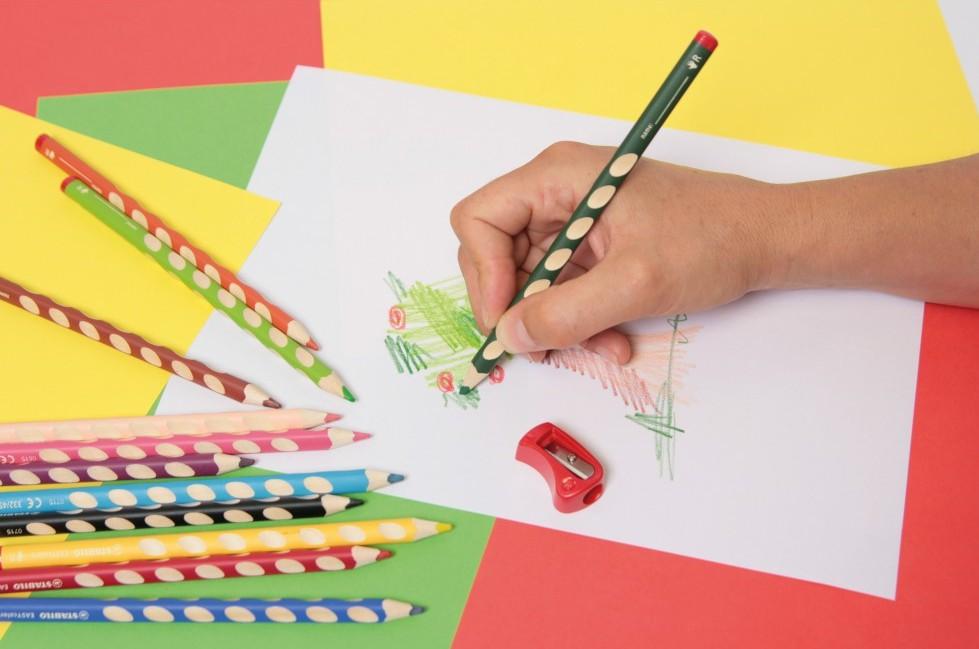 Crayons de couleurs easy par 12