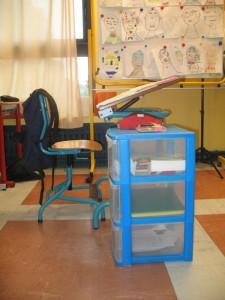 bureau élève dyspraxique