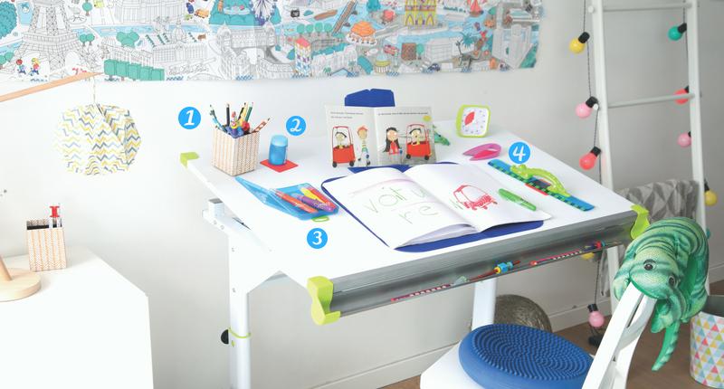 Fournitures scolaires ergonomiques