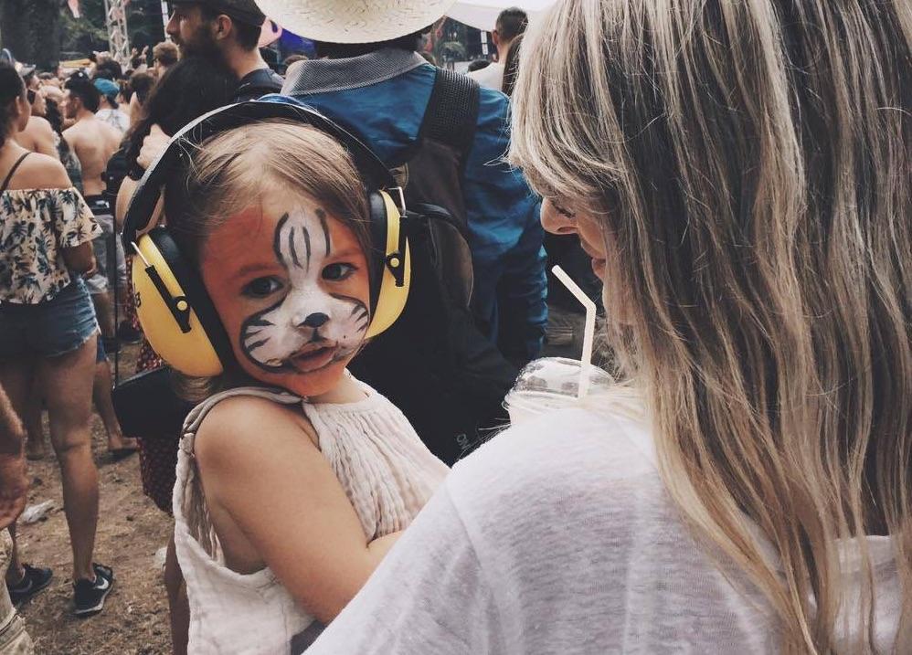 Casque anti-bruit pour enfant lors d'un concert