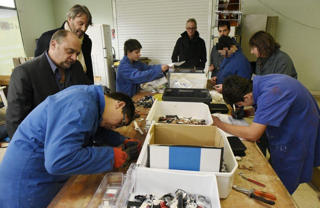 Projet éco solidaire de recyclage de montres
