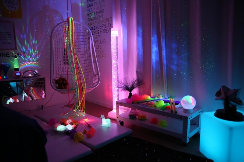 Créer une chambre sensorielle