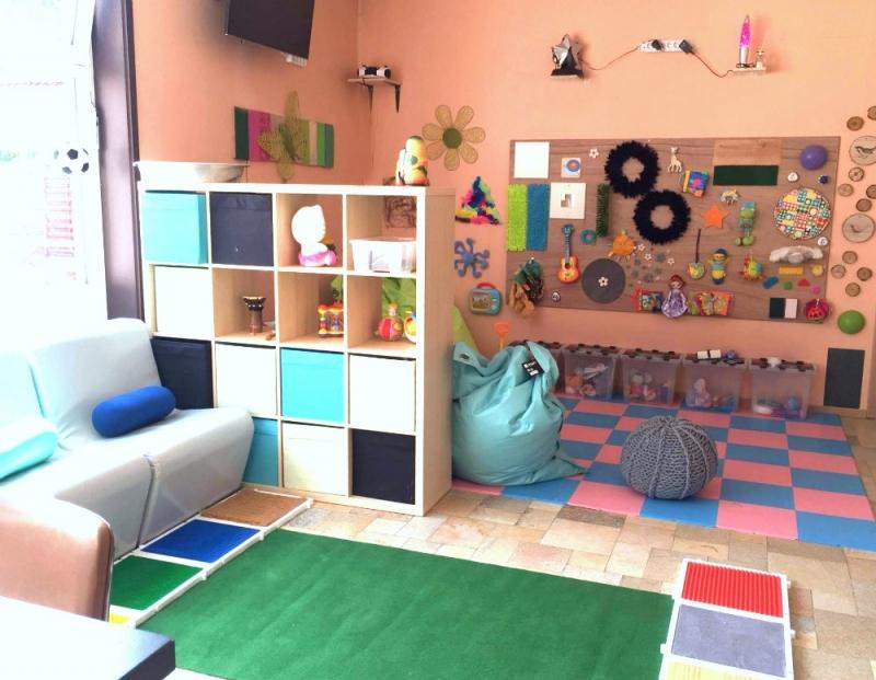 Une salle d'activité sensorielle