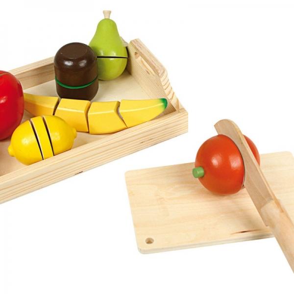 On cuisine avec les fruits à découper