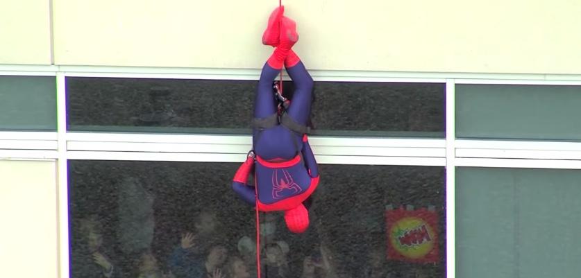 spiderman hopital