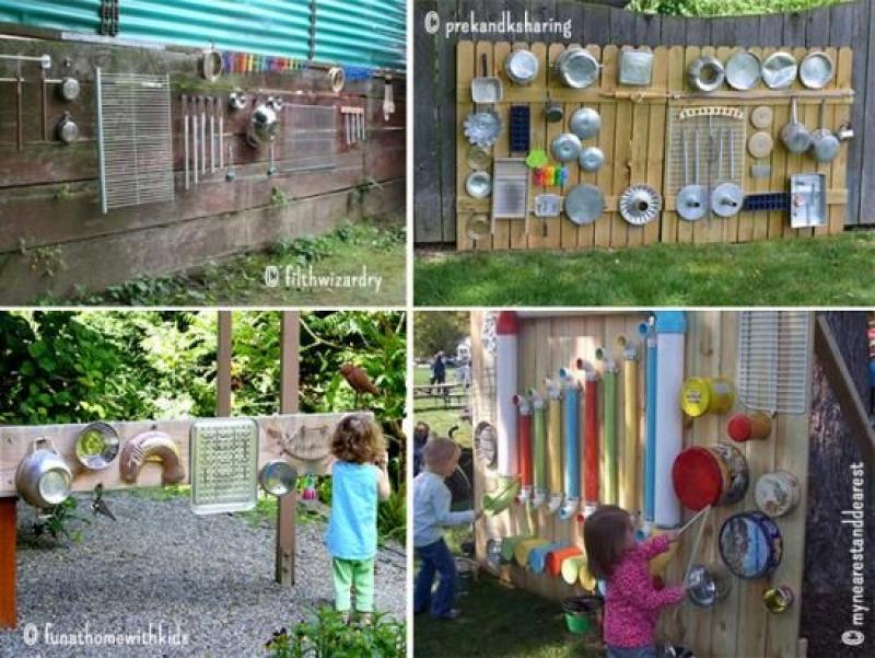 Créer des murs musicaux pour le jardin