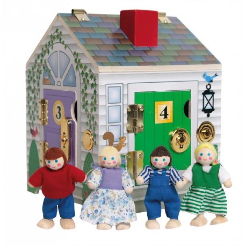 Maison aux 4 serrures