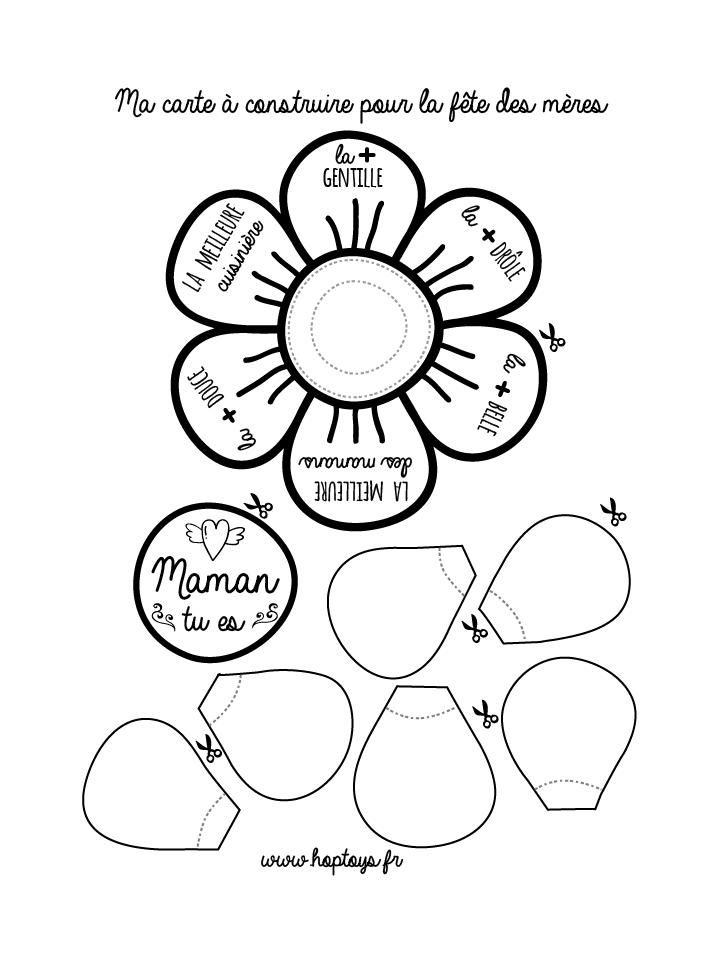 Ma Carte à Construire Pour La Fête Des Mères Blog Hop Toys