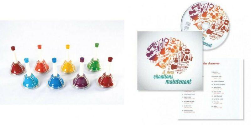 Les clochettes musicales et le CD : et si nous chantions