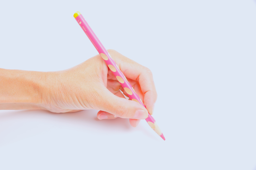 crayon ergonomique easy-grip