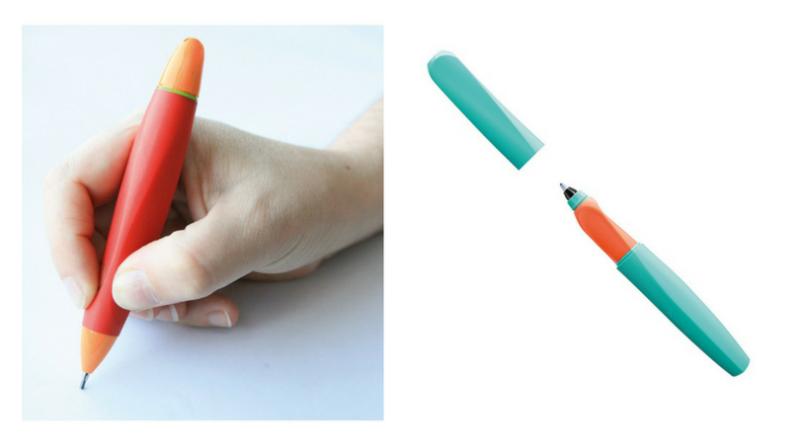 stylos et crayons ergonomiques