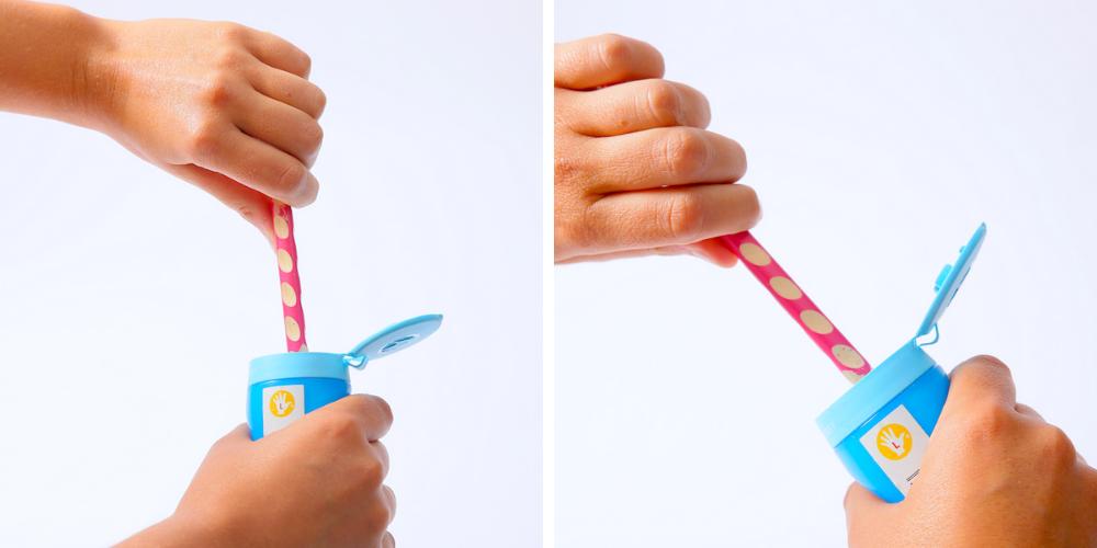 crayon easy-grip et taille-crayon