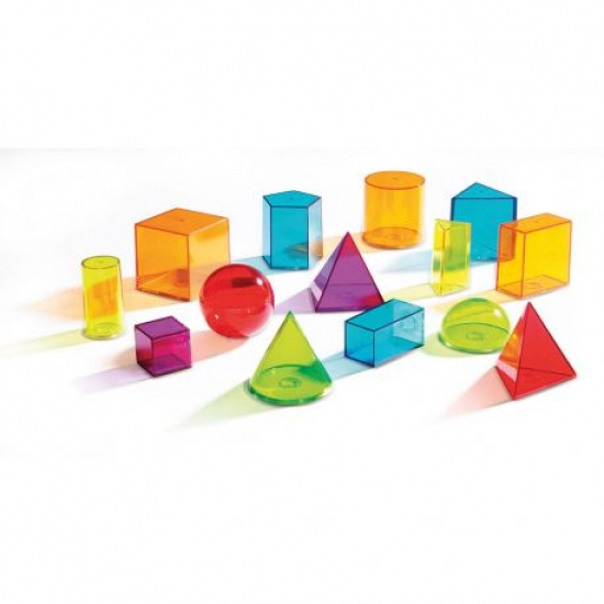 Volumes géométriques transparents