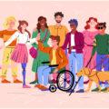 Groupe de personnes représentant la diversité