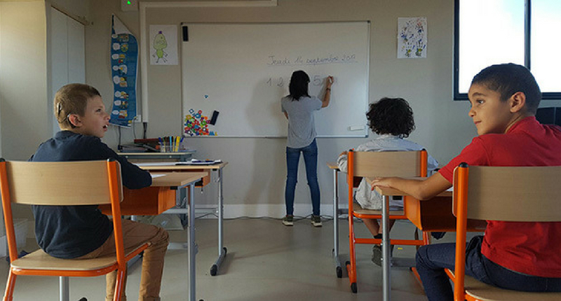 """Classe """"comme à l'école"""""""