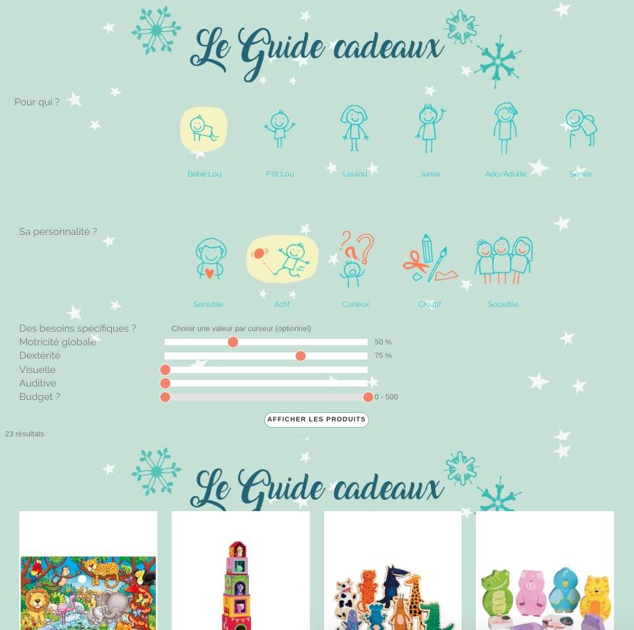 Le guide cadeau de Noël