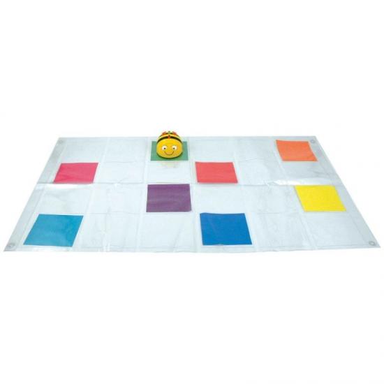 Utilisez le tapis perssonnalisable Bee-Bot/Blue Bot