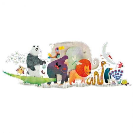 Le puzzle animaux géants (36 pièces)