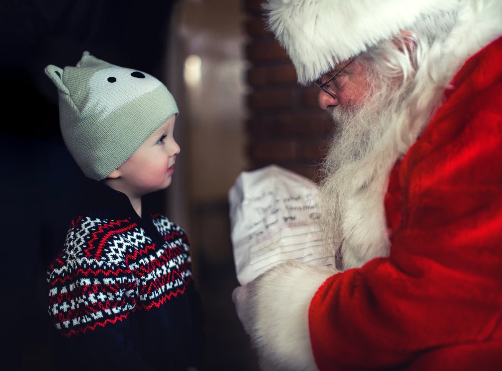 Laisser croire son enfant au Père Noël
