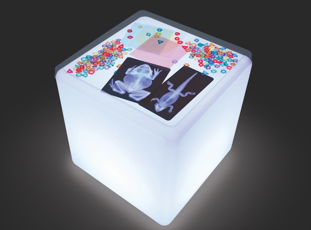 Un cube lumineux pour une chambre