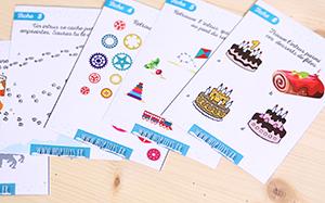 cartes activités