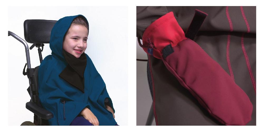Manteau pour enfant et handicap