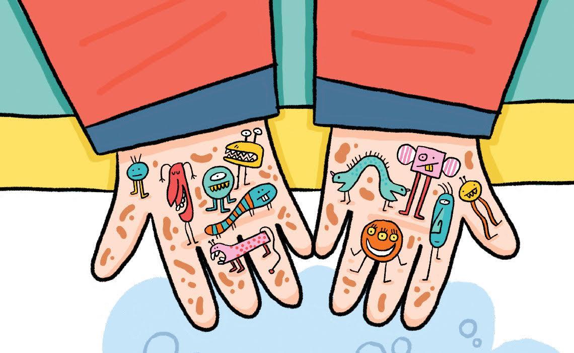 Affiches Comment Bien Se Laver Les Mains Blog Hop Toys