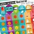 infographie enfants et écrans