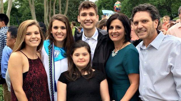 Rosa Marcellino avec sa famille