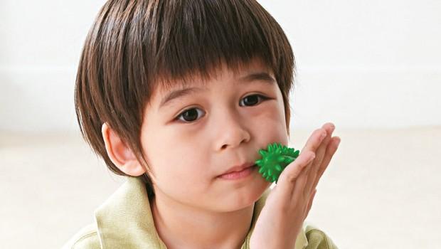 Massage sensoriel enfant
