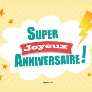 pack anniversaire spécial Supers Héros