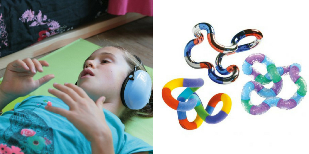 Casque anti-bruit et tangle Hop'Toys