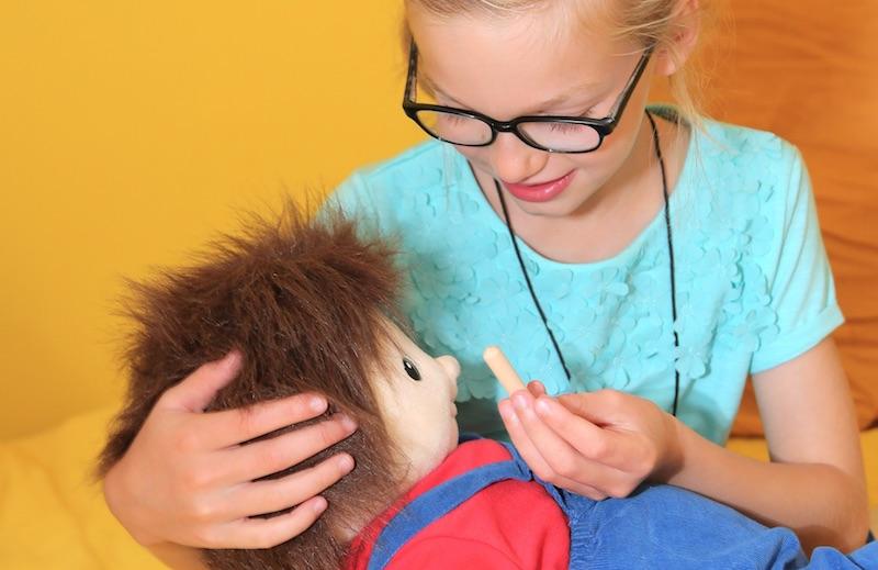 Muñeco de sensibilización y lucha contra los prejuicios