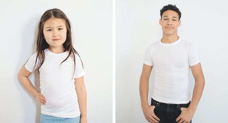 T-shirt à compression, pour pression profonde