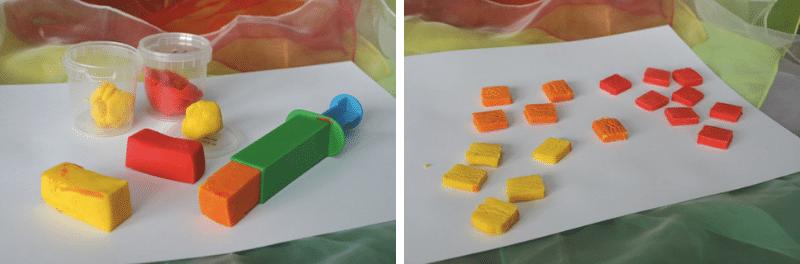 Activité créative pâte à modeler
