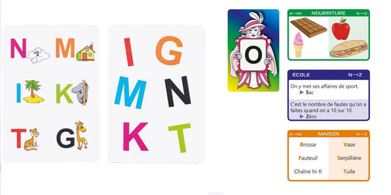 jouer avec les lettres - apprentissages