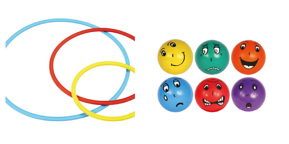 Cercles et balles à émotions