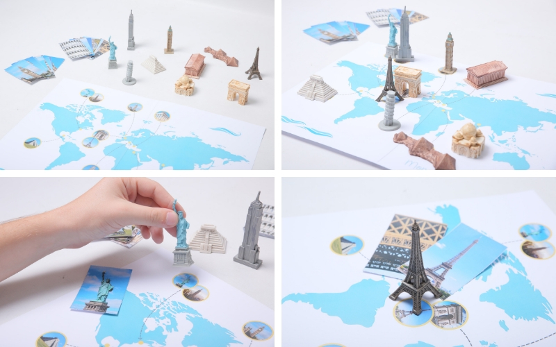 Placer les monuments sur la carte