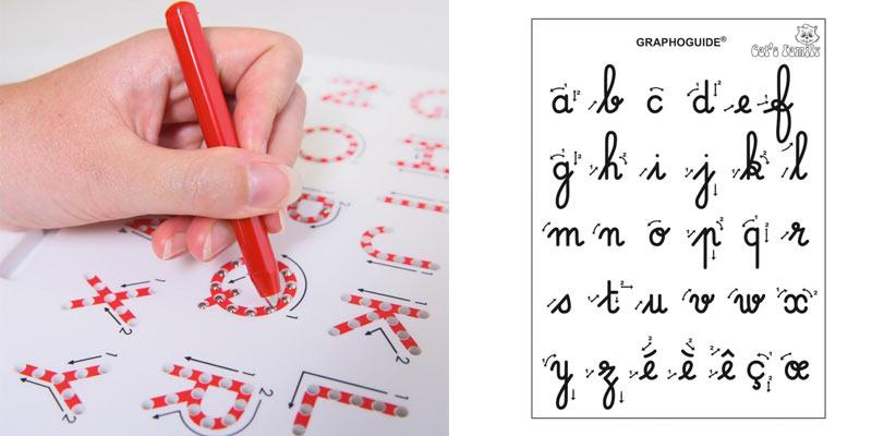 ecrire alphabet