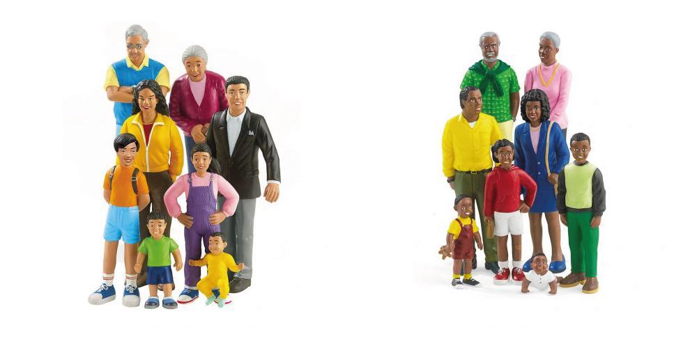 Des figurines de la famille pour la thérapie par le jeu