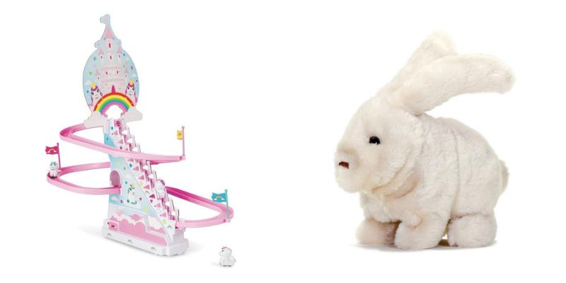 Manège licorne et lapin adaptable