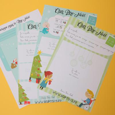 lettres père-Noël